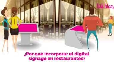 digital signage en restaurantes