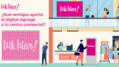 digital signage centros comerciales