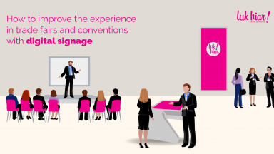 experience in trade fairs and conventions