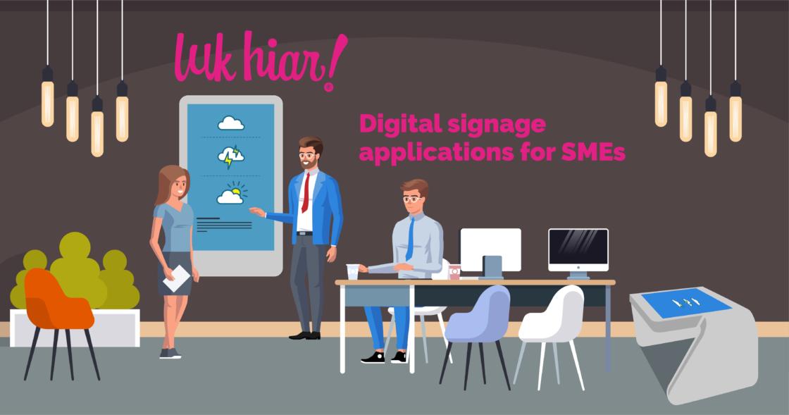 digital signage for smes