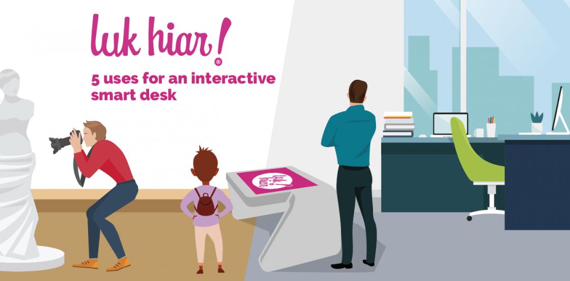 interactive smart desk