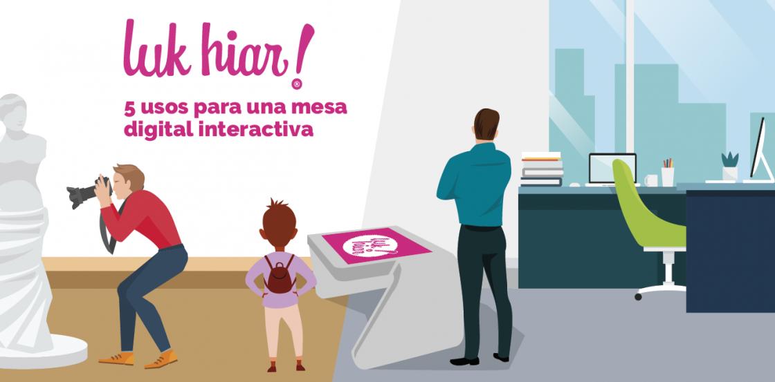 mesa digital interactiva